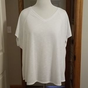 White short sleeve shirt NWOT